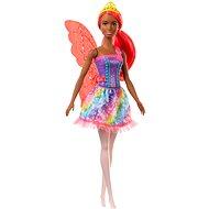 Barbie Čarovná víla s oranžovými vlasmi