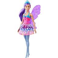 Barbie Čarovná víla s fialovými vlasmi