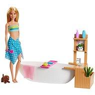 Barbie wellness bábika v kúpeľoch herná sada