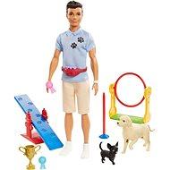 Barbie Ken a povolanie – herná sada Cvičiteľ psov