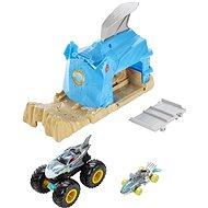 Hot wheels Monster trucks veľké problémy, modrá - Herná sada