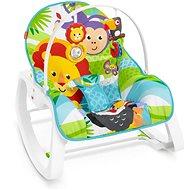Fisher-Price Sedadlo od bábätka po batoľa zvieratká z džungle - Hračka pre najmenších