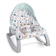 Fisher-Price Sedadlo od bábätka po batoľa terrazzo so strieškou - Hračka pre najmenších