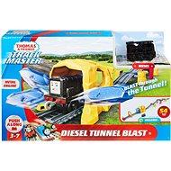 Fisher-Price Diesel a výbuch tunela herná sada