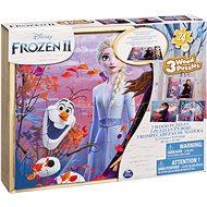 Frozen 2 Drevené puzzle - Puzzle