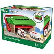 Brio World 33474 Prenosné vlakové depo - Vláčikodráha