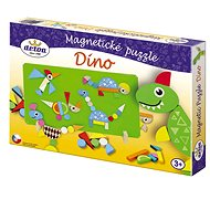 Detoa Magnetické puzzle Dinosaury - Puzzle