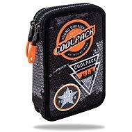Coolpack Jumper 2 čierny/oranžový - Peračník