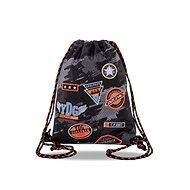 Coolpack Sprint čierny/oranžový - Vak