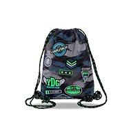 Coolpack Sprint sivý/zelený - Vak