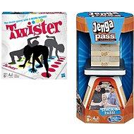 Twister a Jenga Pass
