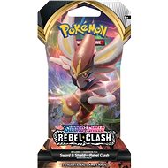 Pokémon TCG: SWSH02 Rebel Clash 1 Blister Booster - Kartová hra