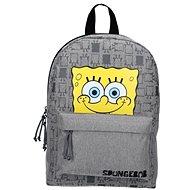 Spongebob Iconic Gray Backpack - Školský batoh