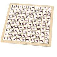 Drevená hračka Drevená abeceda a počítanie - Dřevěná hračka