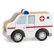 Drevená sanitka - Drevená hračka