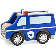Drevené policajné auto - Drevená hračka