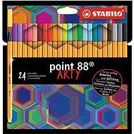 STABILO Point 88 ARTY - sada 24 ks - Liner