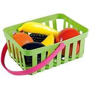 Androni Nákupný košík s ovocím - 6 kusov, zelený - Set