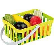 Androni Nákupný košík so zeleninou - 10 kusov, zelený