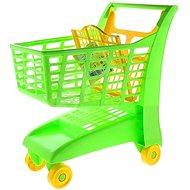 Androni Nákupný vozík so sedadlom - zelený - Detský vozík