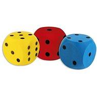 Androni Kocka mäkká – veľkosť 16 cm, modrá - Lopta pre deti