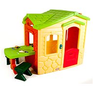 Little Tikes Domček s piknikovým stolíkom – Natural - Detský domček