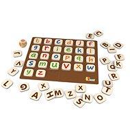 Drevená hra – abeceda - Didaktická hračka
