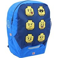 LEGO Faces Blue - Detský ruksak