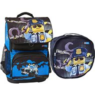LEGO CITY Police Cop Optimo – 2-dielna sada - Školský batoh
