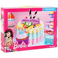 Barbie – Farebná plastelína – Narodeninová torta - Modelovacia hmota