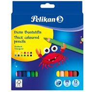 Pelikan 12 farieb - Pastelky