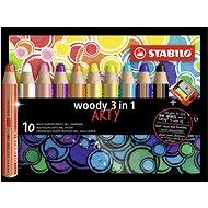 Stabilo Woody Arty 3 in 1 10 farieb - Pastelky