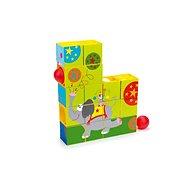 Scratch Puzzle a guľôčková dráha Cirkus - Detská hra