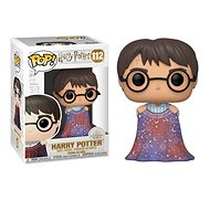 Funko POP Movies: Harry Potter S10 – Harry w/Invisibility Cloak - Figúrka