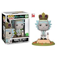 "Funko POP Animation: Rick & Morty S2 – King of $#!+ w/Sound 6"" - Figúrka"