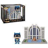 Funko POP DC Towns: Batman 80th – Hall of Justice w/Batman - Figúrka