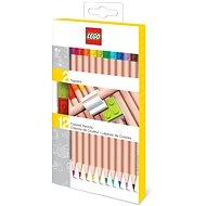 LEGO Pastelky, mix farieb – 12 ks s LEGO klipsou - Pastelky