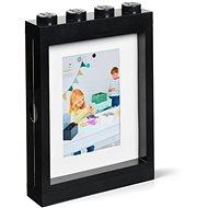 LEGO fotorámček – čierny
