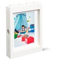 LEGO fotorámček – biely - Fotorámik