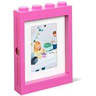 LEGO fotorámček – ružový
