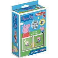 Magicube Peppa Pig A day Peppa - Magnetická stavebnica
