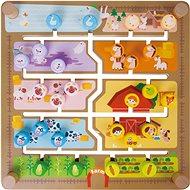Vkladačka/edukačný labyrint 2 v 1 - Interaktívna hračka