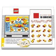 LEGO Stationery Classic Kačice – zápisník s perom a stavebnicou - Zápisník