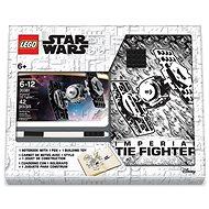LEGO Stationery Star Wars Tie Fighter – zápisník s perom a stavebnicou - Zápisník