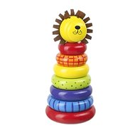 Môj prvý krúžkový lev - Drevená hračka