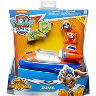 Paw Patrol Super vozidlá so svetelným efektom Zuma - Herná sada