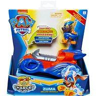 Paw Patrol Svietiace vozidlá hrdinov so zvukmi Zuma - Herná sada