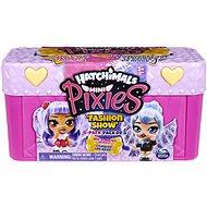 Hatchimals Mini Pixies Bábiky 4 ks v kufríku – Ružové - Figúrky