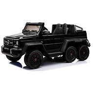 Mercedes-Benz G63 6X6, čierne - Detské elektrické auto