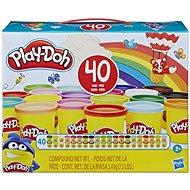 Play-Doh balenie 40 ks téglikov - Modelovacia hmota